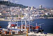 Seaport. Vigo. Spain