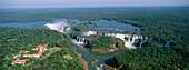 Hotel Tropical das Cataratas at the Iguassu Falls, Waterfall, Foz do Iguacu, Brasil, South America