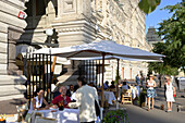 Cafe Bosco on Red Square, Moscow, Russia