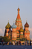 Cathedral of Saint Basil the Blessed, aka the Cathedral of Intercession of the Virgin on the Moat and Cathedral of the Protection of the Mother of God, Moscow, Russia