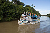 River Boat Excursion on Rio Tapajos, Near Santarem, Para, Brazil, South America
