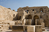 Citadel of Aleppo, a large medieval fortified palace, Aleppo, Syria, Asia