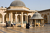 Well in the Courtyard of Aleppo Great Mosque, Aleppo, Syria, Asia