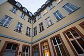 Außenansicht von Goethehaus, Frankfurt, Hessen, Deutschland, Europa