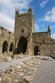 outdoor photo, summer, Jerpoint Abbey, County Kilkenny, Ireland, Europe