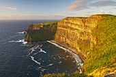 outdoor photo, early evening, Cliffs of Moher,  County Clare, Ireland, Europe