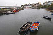 outdoor photo, old fishing port of Roundstone, Connemara , County Galway, Ireland, Europe