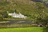 outdoor photo, Kylemore Abbey at Kylemore Lough, Connemara , County Galway, Ireland, Europe
