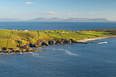 Außenaufnahme, Muckros Head, Donegal Bay, County Donegal, Irland, Europa