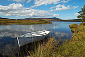 outdoor photo, view over Lough Nacung, County Donegal, Ireland, Europe
