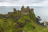 outdoor photo, Dunluce Castle, County Antrim, Ulster, Northern Ireland, Europe