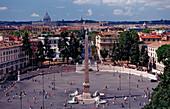 Piazza del Popolo, Italy, Rom