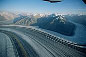 Glaciers. St. Elias Mountains. Kluane National Park. Yukon. Canada.