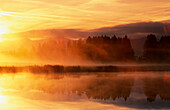 Beyond, Blurred, Color, Colour, Concept, Concepts, Daytime, Exterior, Horizontal, Lake, Lakes, Landscape, Landscapes, Mirror image, Mirror images, Mountain, Mountains, Orange, Outdoor, Outdoors, Outside, Reflection, Reflections, Scenic, Scenics, Silhouet