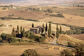 Le Crete Sienese, Tuscan landscape. Italy