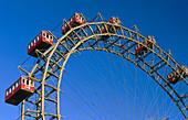 Prater amusement park. Vienna. Austria