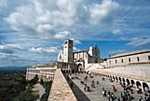 Basilica of Saint Francis. Assisi. Italy