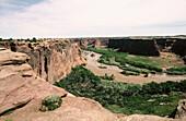 Canyon de Chelly National Monument, from tsegi overlook. Arizona. USA