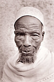 Elderly muslim. Harar. Ethiopia