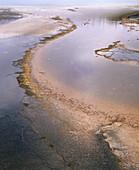 Grand Prismatic Spring. Midway Geyser Basin. Yellowstone National Park. Teton County. Wyoming. USA.