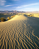 Sand dunes at Stovepipe Wells, Death Valley National Park. Inyo County, California. USA