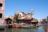 Gondola Shipyard, San Trovaso, Venice, Veneto, Italy