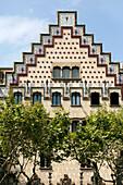 Casa Amatller, Josep Puig i Cadafalch, Passeig de Gracia, Barcelona, Catalonia, Spain