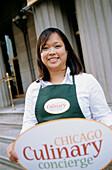 Culinary Concierge des Chicago Department für Tourismus und Kultur, Chicago, Illinois, USA
