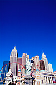 Außenansicht des Casino New York New York, Las Vegas, Nevada, USA, Amerika
