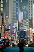 City scenery in Midtown Manhattan, New York, USA, America