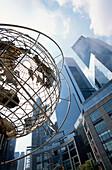 Außenansicht des Time Warner Center am Columbia Circle, Manhattan, New York, USA, Amerika