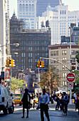 Street scenery in Midtown Manhattan, New York, USA, Amerika