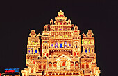 Ganesh Festival. This festival is celebrated for ten days with lavish decorations. Pune, India