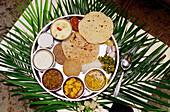 Indian Vegetable Thali , India
