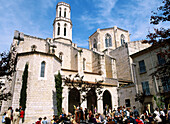 Church of Sant Pere. Figueres. Girona province, Spain
