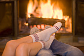 fireside togetherness