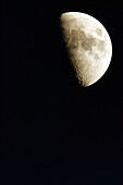 Astronomy, Color, Colour, Exterior, Half-light, Moon, Nature, Night, Nighttime, Outdoor, Outdoors, Outside, Satellite, Satellites, Scenic, Scenics, Science, Skies, Sky, Vertical, K83-242678, agefotostock