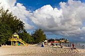 Watch tower at Accra Beach, Rockley, Barbados, Caribbean