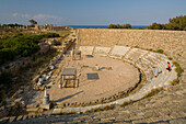 Salamis Antique Theatre, Ruins, Archaeology, Salamis, North Cyprus, Cyprus