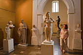 Marble statue of Aphrodite from Soli, Cyprus Archaeological Museum, Lefkosia, Nicosia, Cyprus