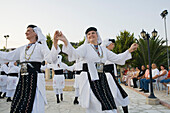 A group of women dancing, Cypriot Folk dance, Commandaria Wine Festival, Limnati, Cyprus