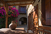 Traditional guesthouse with patio, Cyprus Villages Traditional Houses Ltd., Agrotourism, Tochni, near Larnaka, Cyprus