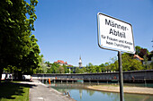 Marzili open-air pool, Male pool, Aare, Old City of Berne, Berne, Switzerland