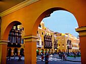 Main Square. Historic centre. Lima. Peru