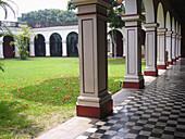 Archeology Museum, former Jose de San Martin residence. Lima. Peru
