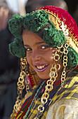 People at Sahara festival. Douz, Tunisia