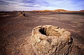 Jettaras (underground canal). Erg Chebbi. Merzouga. Tafilalet. Morocco.