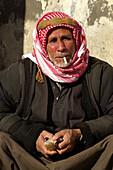 Cotton grower of Arabic origin. Harran. Southeast Anatolia. Turkey.
