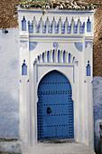 House façade. Chefchaouen. Morocco