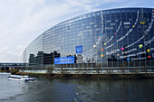 European Parliament. Strasbourg. France
